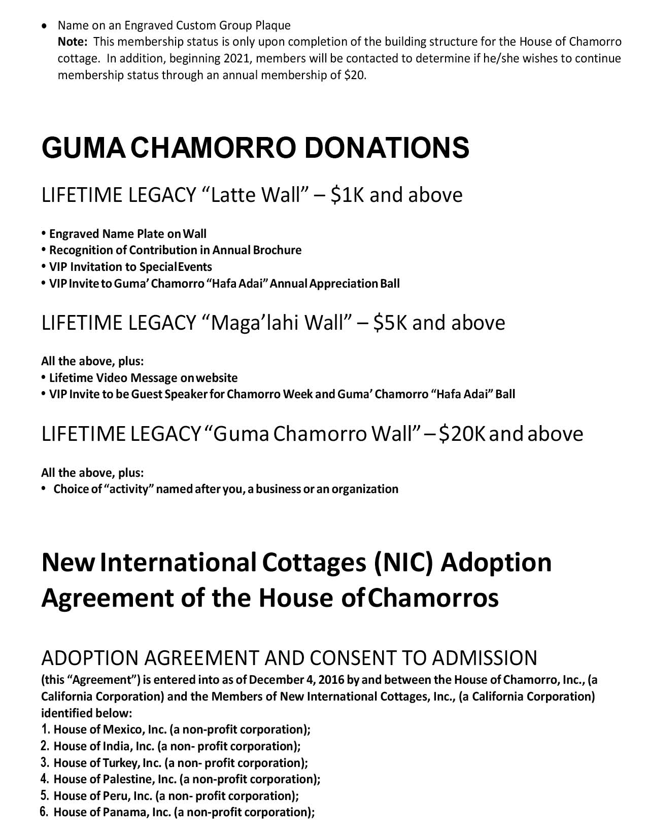 House of Chamorros